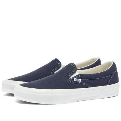 バンズ ボルト Vans Vault メンズ スリッポン・フラット シューズ・靴 Slip On LX Navy