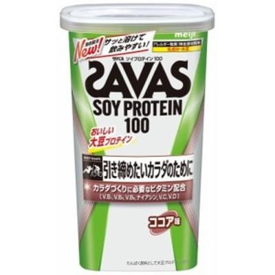 ザバスソィプロテイン100ココア味11食分 231g