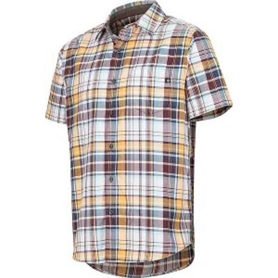 マーモット メンズ シャツ トップス Marmot Men's Syrocco SS Shirt Sienna Red