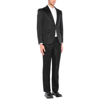 CARLO PIGNATELLI CERIMONIA スーツ ブラック 50 アセテート 51% / レーヨン 49% スーツ