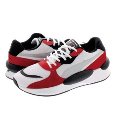 PUMA RS 9.8 SPACE WHITE/HIGH RISK RED