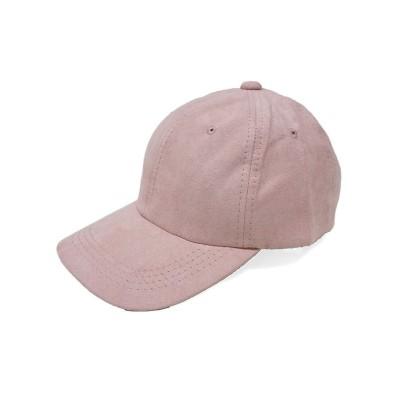(Keys/キーズ)帽子 キャップ メンズ レディース 秋冬 フェイクスウェード シンプル 無地 キーズ Keys/ユニセックス ピンク