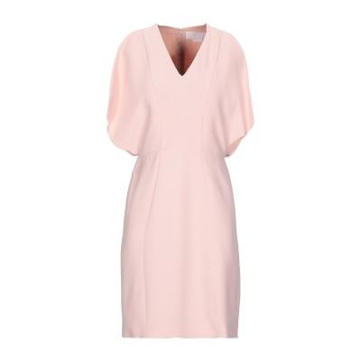 ジェニー GENNY ミニワンピース&ドレス ピンク 40 レーヨン 63% / アセテート 34% / ポリウレタン 3% ミニワンピース&ドレス