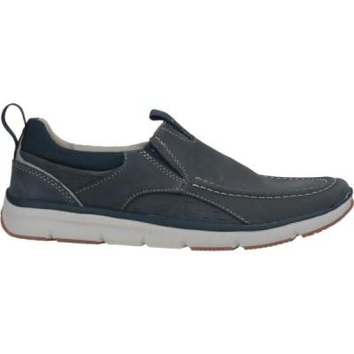 クラークス CLARKS メンズ ローファー シューズ・靴 loafers Slate blue
