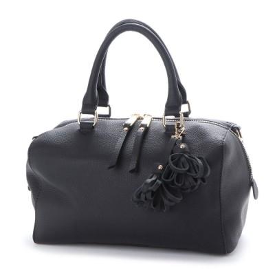 イグジスタンス EXISTENCE キューブボストンレザーバッグ (ブラック)