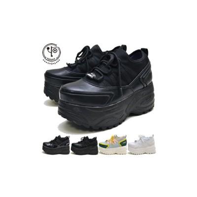 ヨースケ YOSUKE 靴 厚底スニーカー レディース ストレッチ素材のソックススニーカー ※(予約)は3営業日内に発送