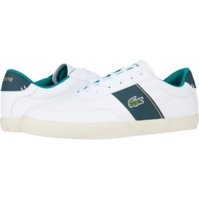 ラコステ Lacoste メンズ スニーカー シューズ・靴 Court-Master 319 6 White/Dark Green