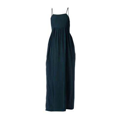 ツインセット シモーナ バルビエリ TWINSET ロングワンピース&ドレス ダークグリーン XS 100% レーヨン ロングワンピース&ドレス