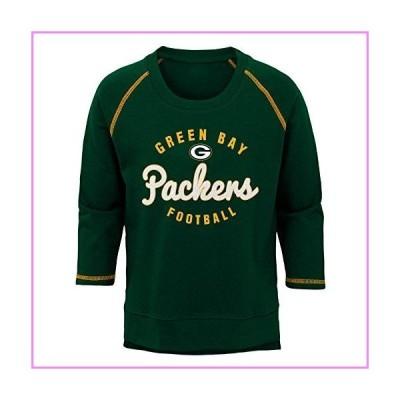 【送料無料】NFL Green Bay Packers Youth Boys Overthrow' Pullover Top Hunter Green, Youth Large(14)【並行輸入品】