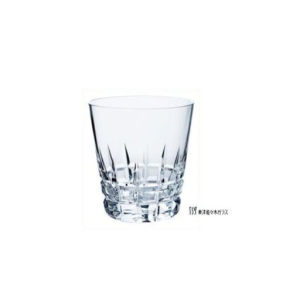 【東洋佐々木ガラス オンザロックグラス】 カットグラス 10オールド(3個入) T-20113-C704