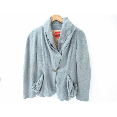 Vivienne Westwood ヴィヴィアンウエストウッド REDLABEL ドレープ デザイン ジャケット SIZE:38 ▼FL422