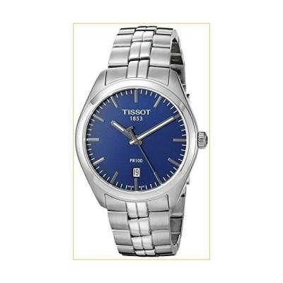 ティソ 腕時計  Tissot Men's T1014101104100 Analog Display Quartz Silver-Tone Watch 並行輸入品
