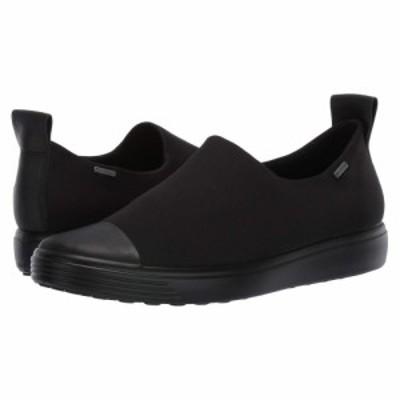 エコー ECCO レディース スリッポン・フラット シューズ・靴 Soft 7 GTX Slip-On Black/Black/Black