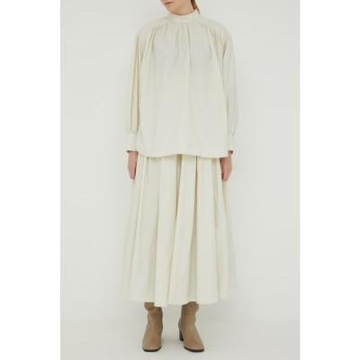 GATHER スカート O/WHT1