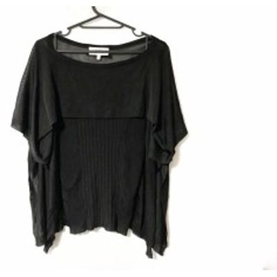 ゴルチエ JeanPaulGAULTIER 半袖セーター サイズS レディース 黒【中古】20200311