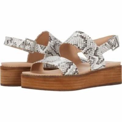 スティーブ マデン Steve Madden レディース サンダル・ミュール ウェッジソール シューズ・靴 Teenie Wedge Sandal Bone Snake