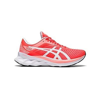 ASICS Women's Novablast Tokyo Running Shoes, 9.5, Sunrise RED/White並行輸入品