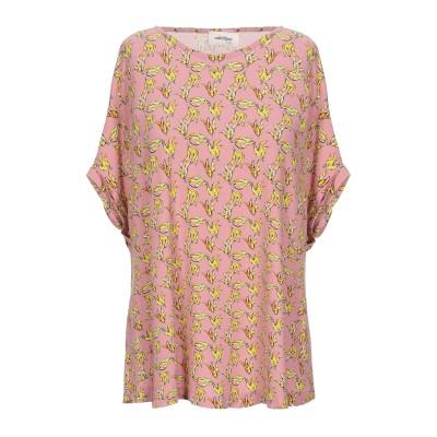 OTTOD'AME T シャツ ピンク 46 レーヨン 95% / ポリウレタン 5% T シャツ