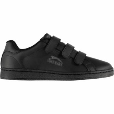 スラセンジャー Slazenger メンズ スニーカー シューズ・靴 ash strap trainers Black/Charcoal