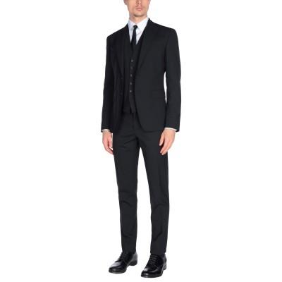 ディースクエアード DSQUARED2 スーツ ブラック 46 バージンウール 95% / ポリウレタン 5% スーツ