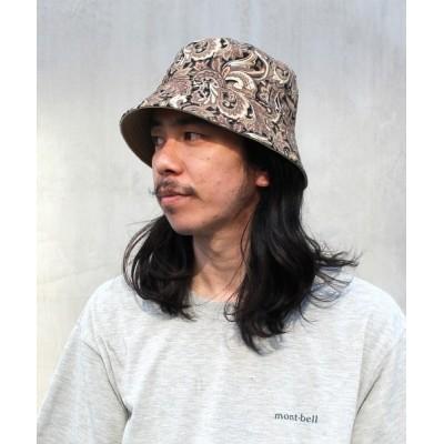 帽子 ハット 【ORNERTE】[WEB限定]BUCKET HAT / 【オルネート】リバーシブル バケットハット オーバーライド