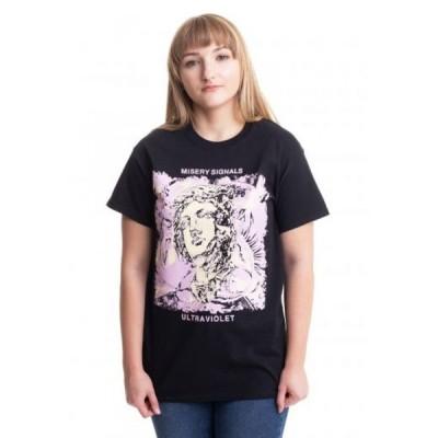 インペリコン Impericon レディース Tシャツ トップス - Ultraviolet Cover - T-Shirt black
