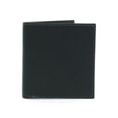 FIVE WOODSファイブウッズ 二つ折り財布 FIVE WOODS 財布 BASICS ベーシックス 本革 フレンチサドルレザー ウォレット ショートウォレット メンズ レディース 43004 ブラック