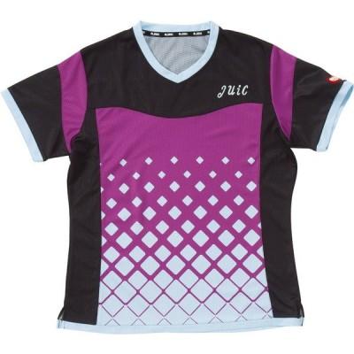 JUIC(ジュウイック ジュイック) 半袖 卓球ゲームシャツ サーフα レディース 女性用 卓球 5569-PU