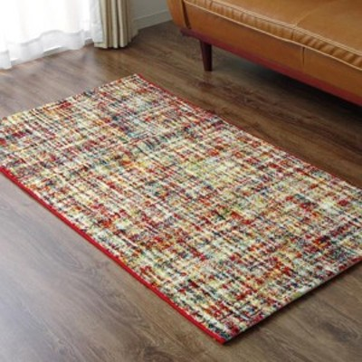 トルコ製 ウィルトン織 ラグ カーペット 『シュール』 約80×140cm 2340519