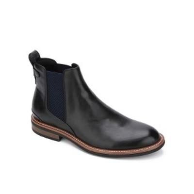 ケネスコール メンズ ブーツ&レインブーツ シューズ Men's Klay Flex Chelsea Boots Black