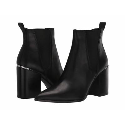 スティーブ マデン ブーツ&レインブーツ シューズ レディース Knoxi Bootie Black Leather