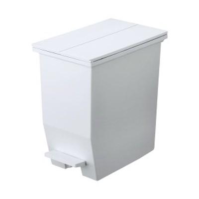 リス 棚下で使える ペダルダストボックス/ゴミ箱 20L グレー 〔台所 キッチン リビング〕