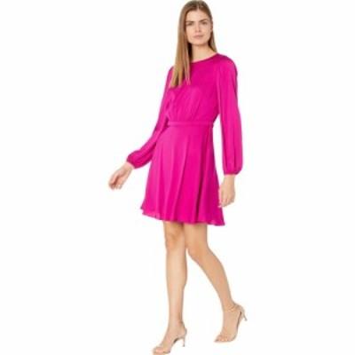 ミリー Milly レディース ワンピース ワンピース・ドレス Elma Stretch Silk Dress Magenta