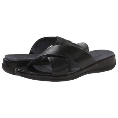 ソフトウォーク SoftWalk レディース サンダル・ミュール シューズ・靴 Tillman Black Soft Nappa Leather