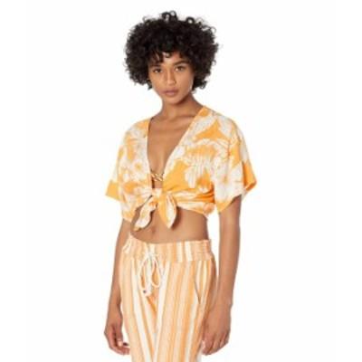 ロキシー レディース シャツ トップス Golden Shore Top Apricot Tan Ven