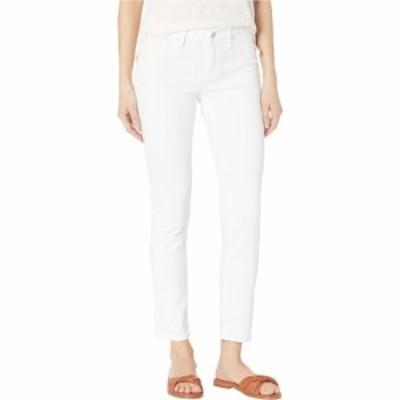 マーヴィ ジーンズ Mavi Jeans レディース ジーンズ・デニム Adriana Mid-Rise Super Skinny Ankle Jeans in Double White Tribeca Doubl