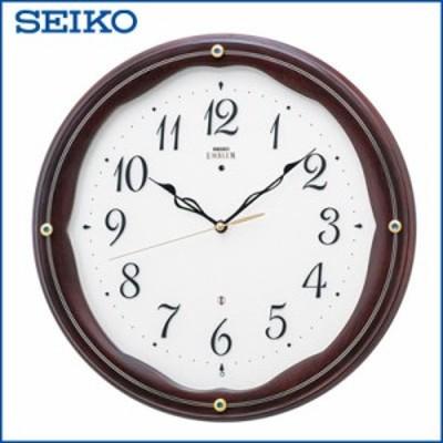 【送料無料】セイコー クロック 掛時計 電波時計 SEIKO EMBLEM HS551B