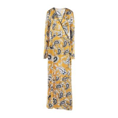 フォルテ フォルテ FORTE_FORTE ロングワンピース&ドレス オークル 1 シルク 100% ロングワンピース&ドレス