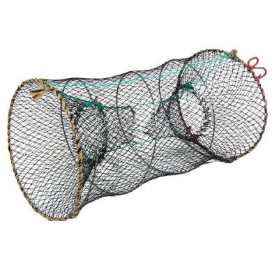 uxcell カニネット ザリガニ エビキャスト ロブスター 折りたたみ ナイロン 25cm x 45cm