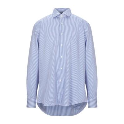 XACUS シャツ ブルー 44 コットン 100% シャツ