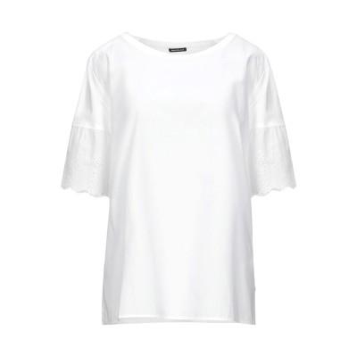 PENNYBLACK ブラウス ホワイト XL コットン 100% ブラウス