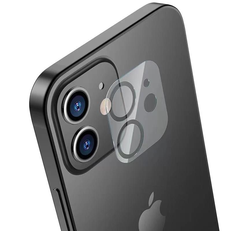滿版含底座 鏡頭保護貼 9H玻璃鏡頭貼 適用iPhone12 Mini 11 Pro Max XR XS i11 7/8