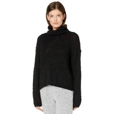 ボベー レディース ニット・セーター アウター Cowl Neck Boucle Pullover Sweater