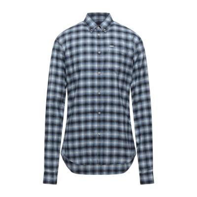ディースクエアード DSQUARED2 シャツ パステルブルー 46 コットン 100% シャツ