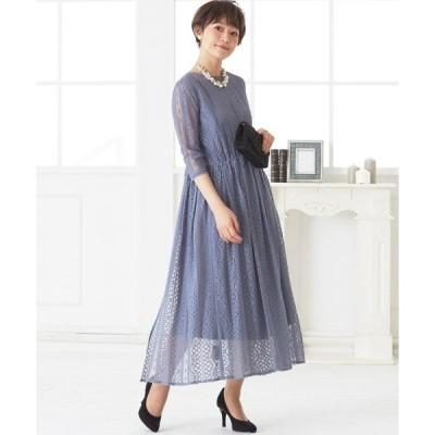ドレス 2way セットアップ レースガウン ワンピースドレス  / 結婚式ワンピース・お呼ばれパーティードレス