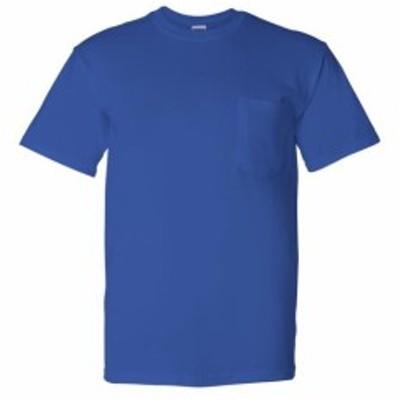 Gildan ギルダン ファッション トップス Gildan Mens DryBlend 5.6 oz. 50/50 Pocket T-Shirt G830 Size S-3XL