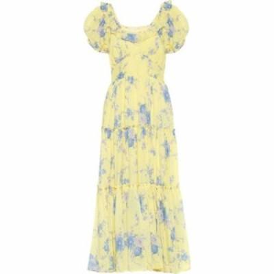 ラブシャックファンシー LoveShackFancy レディース ワンピース マキシ丈 ワンピース・ドレス Emory Cotton And Silk Maxi Dress Sunshow