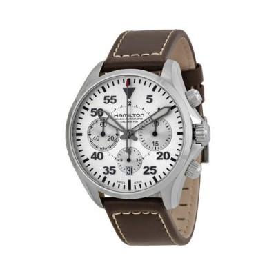 腕時計 ハミルトン Hamilton カーキ Aviation Pilot オートマチック クロノグラフ メンズ 腕時計 H64666555