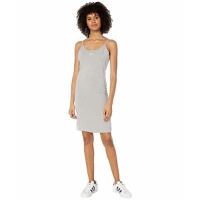 アディダスオリジナルス レディース ワンピース トップス adiColor Tank Dress Medium Grey Heather/White