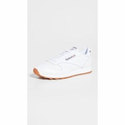 リーボック Reebok メンズ スニーカー シューズ・靴 classic leather sneakers White/Gum